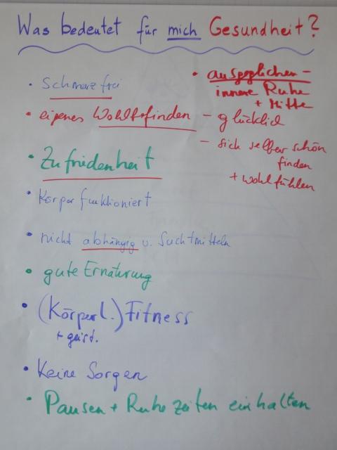Seminarfotos Fitness Körper und Geist 3