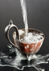 Tasse mit Wasser